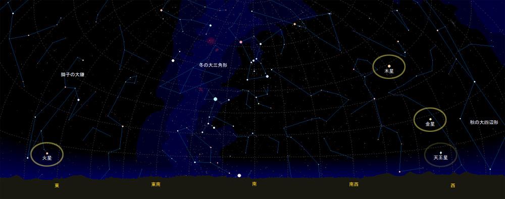 2012.2.20 19:30の星空