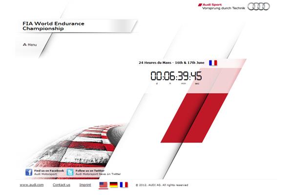 Le Mans 24 Hours 2012 Audi