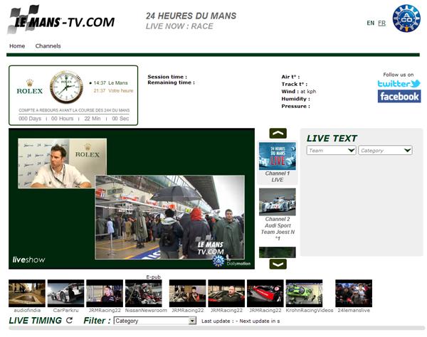 LE MANS-TV.com