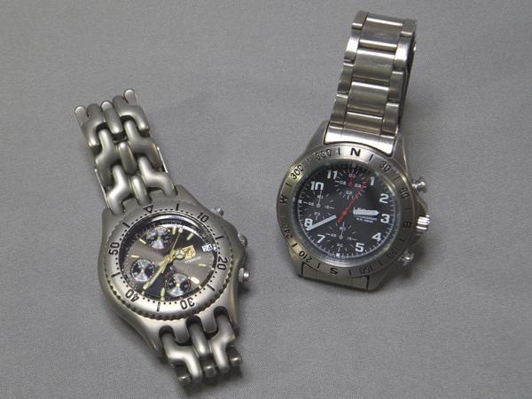 電池切れの腕時計