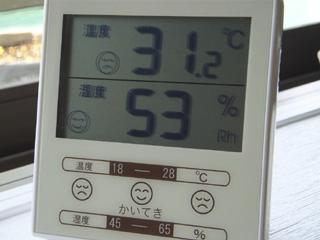 温度/湿度計